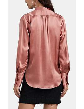 Colette Silk Charmeuse Blouse by Nili Lotan