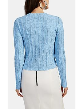 Fedelli Rib Knit Sweater by Altuzarra