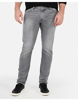Skinny Gray Stretch+ Jeans by Express