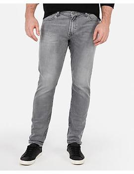 Skinny Gray Stretch+ Jeans by Express