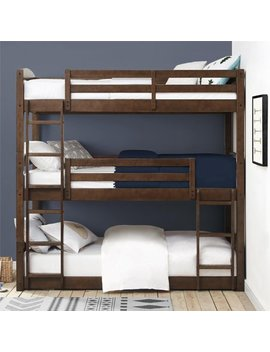 Better Homes & Gardens Tristan Triple Floor Bunk Bed, Multiple Finishes by Better Homes & Gardens