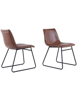 Better Homes & Gardens Theodore Dining Chairs, Set Of 2, Brown by Better Homes & Gardens