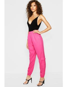 Pocket Side Luxe Joggers by Boohoo