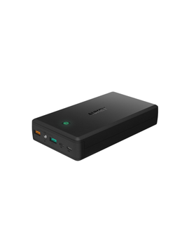 Aukey 30000m Ah Qc3.0 2 Usb Port External Battery Power Bank Portable Charger by Aukey