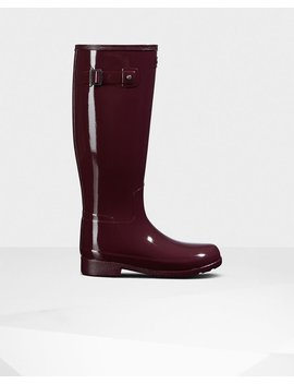 """<Span Itemprop=""""Name"""">Women's Original Refined Tall Boots</Span>:                     <Span>Oxblood</Span> by Hunter"""