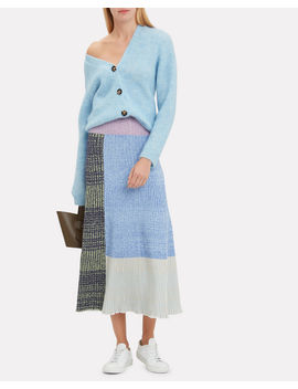 Mixed Marled Patchwork Skirt by 3.1 Phillip Lim