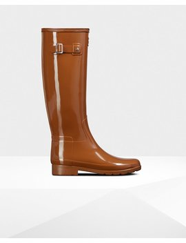 """<Span Itemprop=""""Name"""">Women's Refined Leopard Print Lining Slim Fit Tall Rain Boots</Span>:                     <Span>Thicket</Span> by Hunter"""