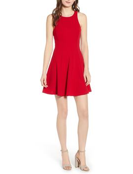 Racerback Fit & Flare Dress by Love, Nickie Lew