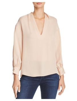 Ninarika V Neck Blouse by Bloomingdales