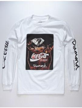 Diamond Supply Co. X Coca Cola Photo Mens T Shirt by Diamond Supply Co.