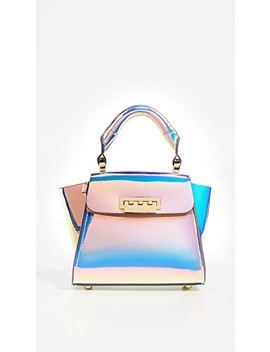 Eartha Iridescent Mini Top Handle Bag by Zac Zac Posen