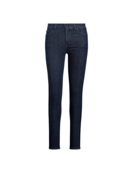 Striped Regal Skinny Jean by Ralph Lauren