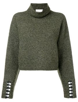 Cropped Turtleneck Pullover by 3.1 Phillip Lim