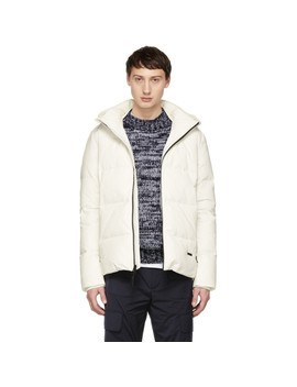 White Down Comfort Jacket by Woolrich John Rich & Bros