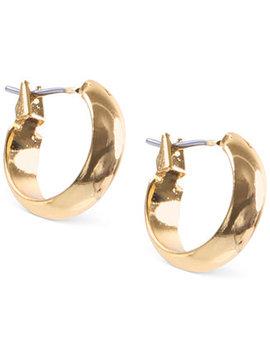 "Small 1/2"" Hoop Earrings by Anne Klein"