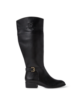 Madisen Leather Boot by Ralph Lauren