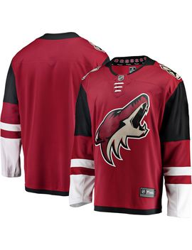 Nhl Men's Arizona Coyotes Breakaway Home Replica Jersey by Fanatics