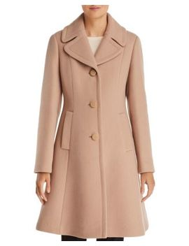 Notched Collar Coat by Kate Spade New York