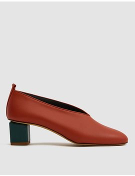 Mildred Classica Heel In Rust by Gray Matters