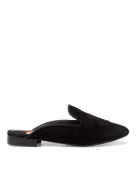 Suede Slipper Flat by Ralph Lauren