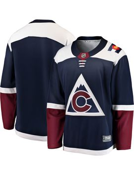 Nhl Men's Colorado Avalanche Breakaway Alternate Alternate Replica Jersey by Fanatics