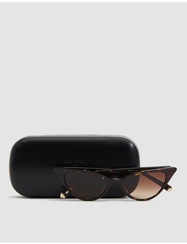 Lita Sunglasses In Havana by Kate Young For Tura