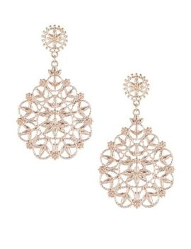 Cut Out Rand Drop Earrings by Etereo
