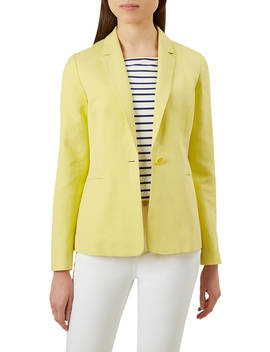 Hobbs Kernow Jacket, Lemon by Hobbs
