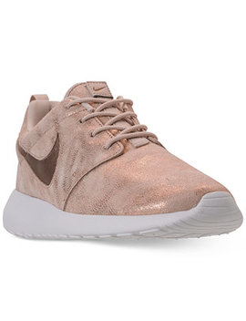 Women's Roshe One Premium Casual Sneakers From Finish Line by Nike