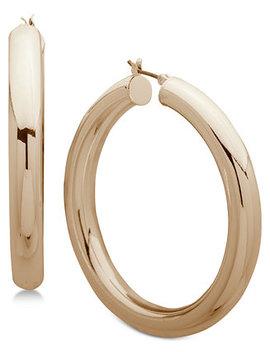 Hoop Earrings by Anne Klein