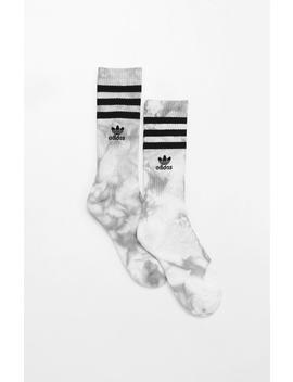 Adidas Tie Dye Roller Single Crew Socks by Pacsun