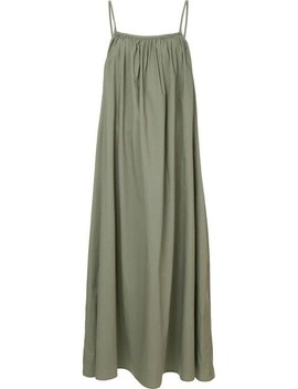 Gathered Slip Dress by Bassike
