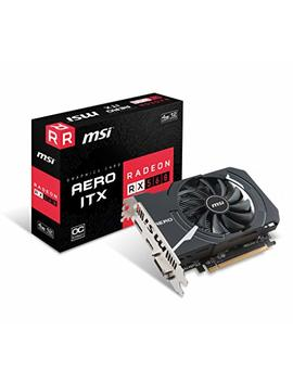 Msi Gaming Radeon Rx 560 128 Bit 4 Gb Gdrr5 Direct X 12 Vr Ready Cfx Graphcis Card (Rx 560 Aero Itx 4 G Oc) by Msi