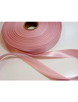 Pink Ribbon, Double Face Rose Blush Satin Ribbon 7/8 Inch Wide X 10 Yards, Second Quality Flawed by Etsy