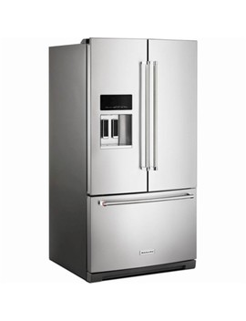 27 Cu. Ft. French Door Refrigerator   Printshield Stainless by Kitchen Aid