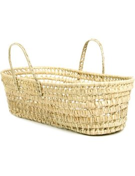 Tadpoles Organic Palm Leaf Moses Basket by Tadpoles