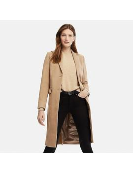 Women Cashmere Blended Chester Coat by Uniqlo