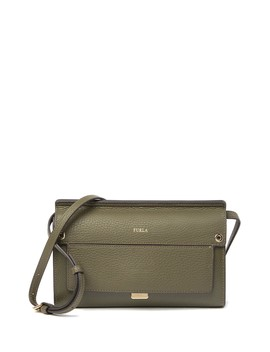 Like Mini Leather Crossbody by Furla