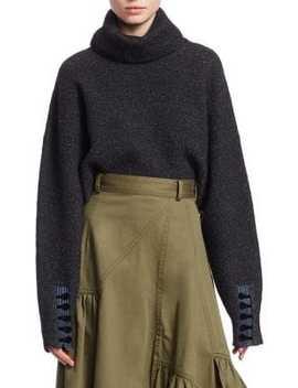 Folk Turtleneck Crop Sweater by 3.1 Phillip Lim