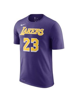 Le Bron James Los Angeles Lakers Nike Dri Fit by Nike