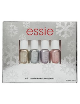 Essie Metallic Mirrors Holiday Mini Nail Polish Kit by Essie