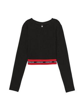 Stripe Long Sleeve Crop by Victoria's Secret