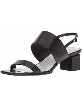 Via Spiga Women's Forte Block Heel Sandal Heeled by Via+Spiga
