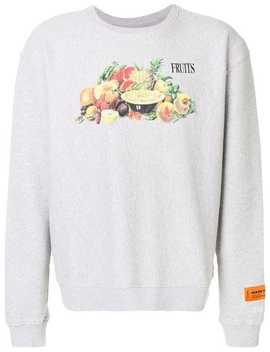Fruits Printed Sweatshirt by Heron Preston