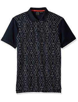 A X Armani Exchange Men's Short Sleeve Polo Shirt by A7 Cx+Armani+Exchange