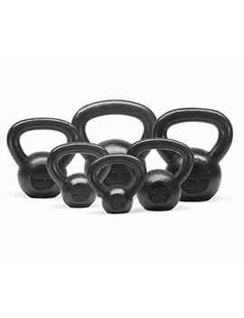 Yes4 All Combo Special: Cast Iron Kettlebell Weight Sets – Weight Available: 5, 10, 15, 20, 25, 30 Lbs by Yes4 All
