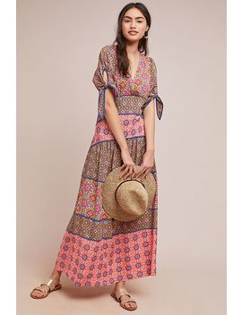 Eder Tiered Maxi Dress by Maeve