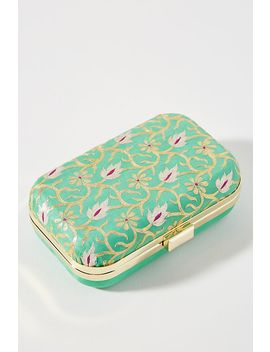 Painted Garden Box Clutch by Anthropologie