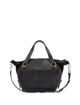 Siny Leather Satchel by Vince Camuto