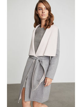 Chanel Belted Wrap Coat by Bcbgmaxazria
